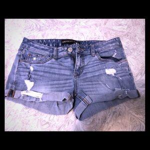 Denim Express shorts size 6
